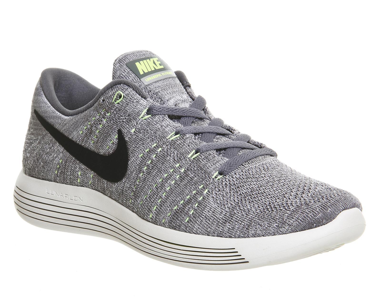 Nike Lunar Epic Flyknit Low In Gray Lyst