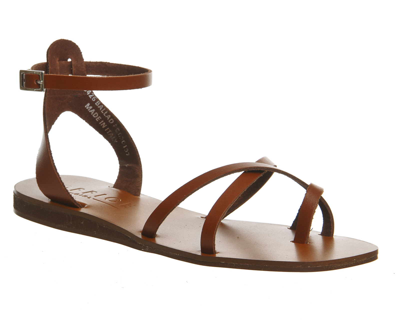 Office Ballad Strappy Sandals In Brown Tan Lyst