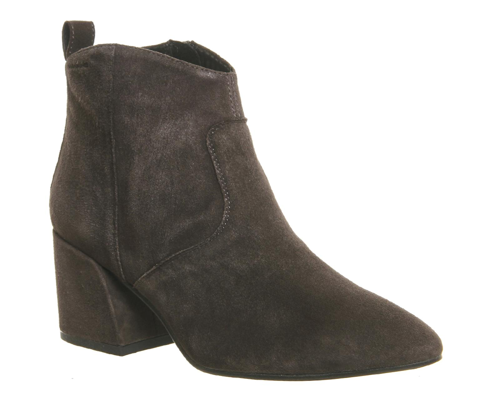 vagabond olivia ankle boots in gray lyst. Black Bedroom Furniture Sets. Home Design Ideas