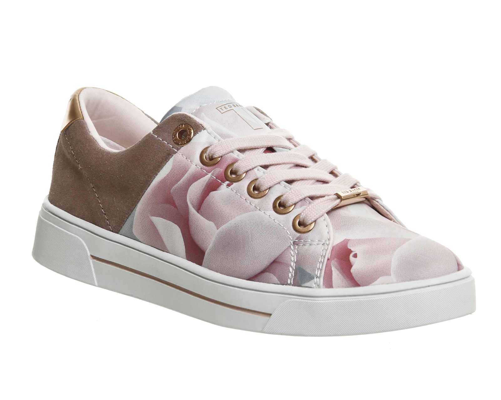 Ted Baker Jockei Trainers In Multicolor Citrus Save 31