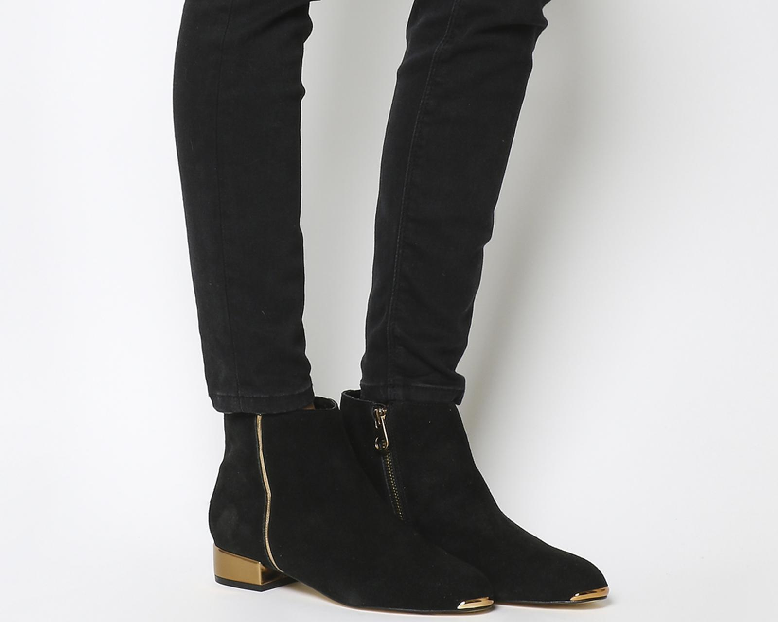 8747bbadeba Ted Baker - Black Ojip Ankle Boots - Lyst
