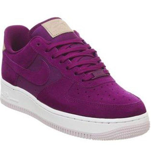 Nike Suede Air Force 1 07 in Purple - Lyst