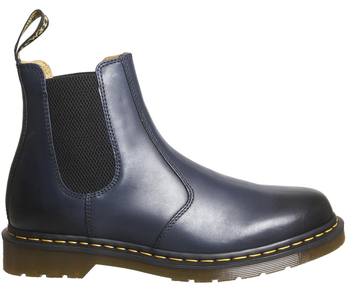 Dr Martens 2976 Chelsea Boots In Blue Lyst