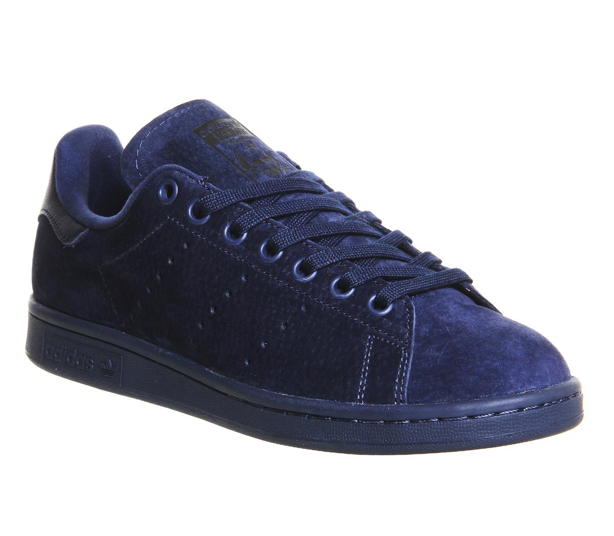 a03ecb99d629 Lyst - adidas Stan Smith Suede Sneakers - Blue in Blue for Men