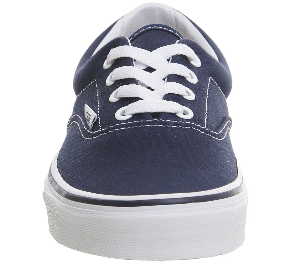 Vans Canvas Authentic Trainers in Navy (Blue) for Men