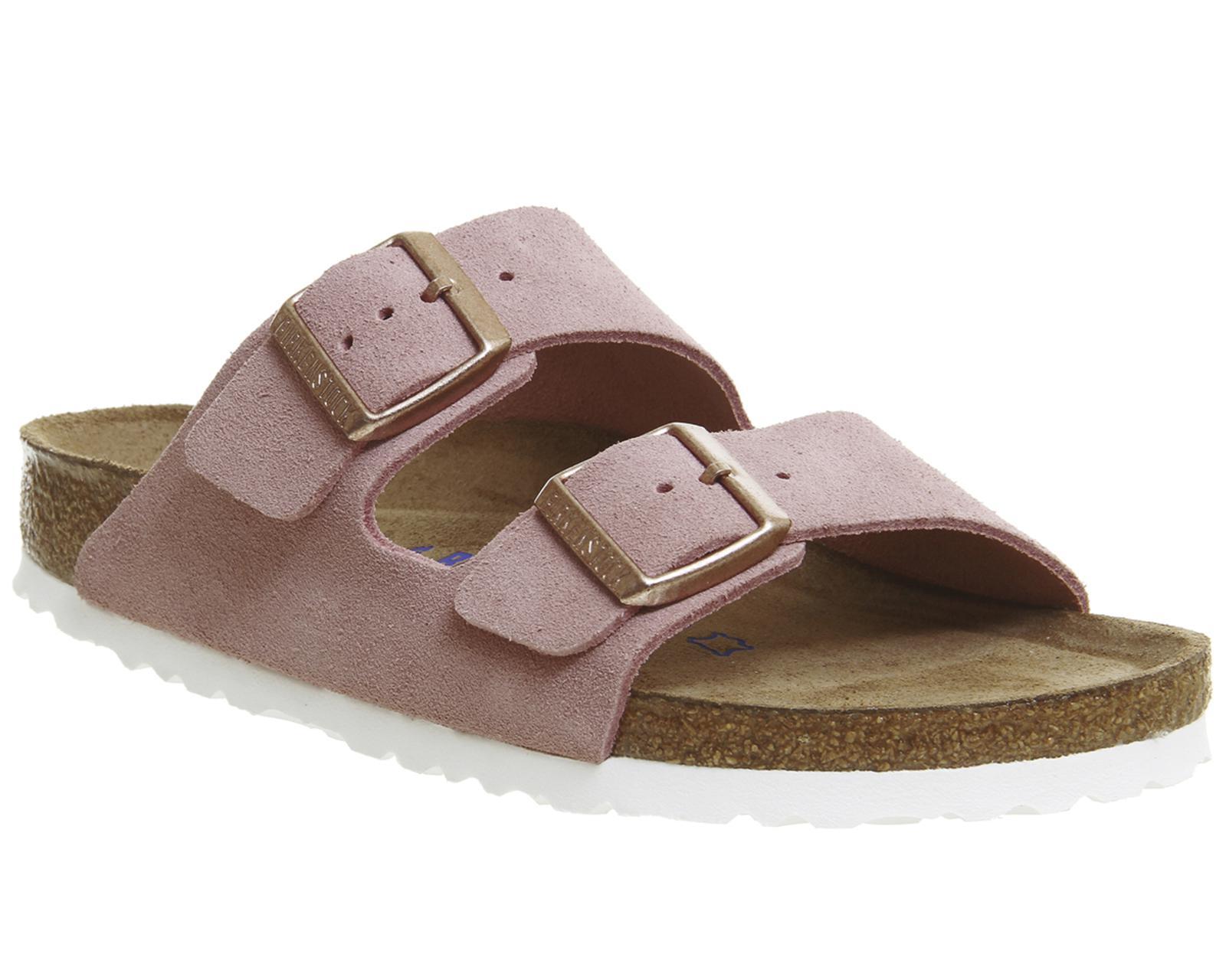 Lyst Birkenstock Arizona Two Strap Sandals In Pink