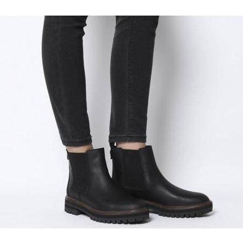 Pacer desempleo A nueve  Timberland Leather London Square Chelsea in Black - Lyst