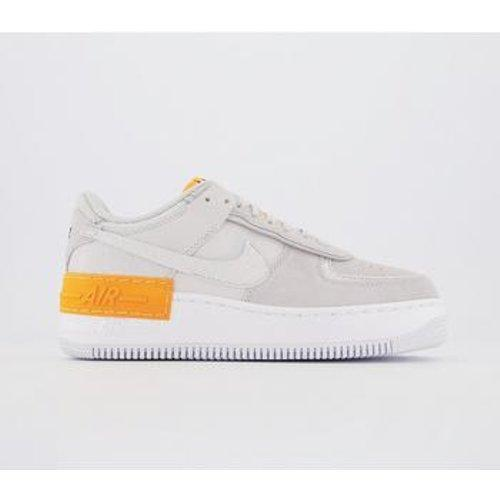 Nike Air Force 1 Shadow Shoe In Grey Gray Save 22 Lyst Кроссовки air force 1 low 'orange skeleton'. air force 1 shadow shoe