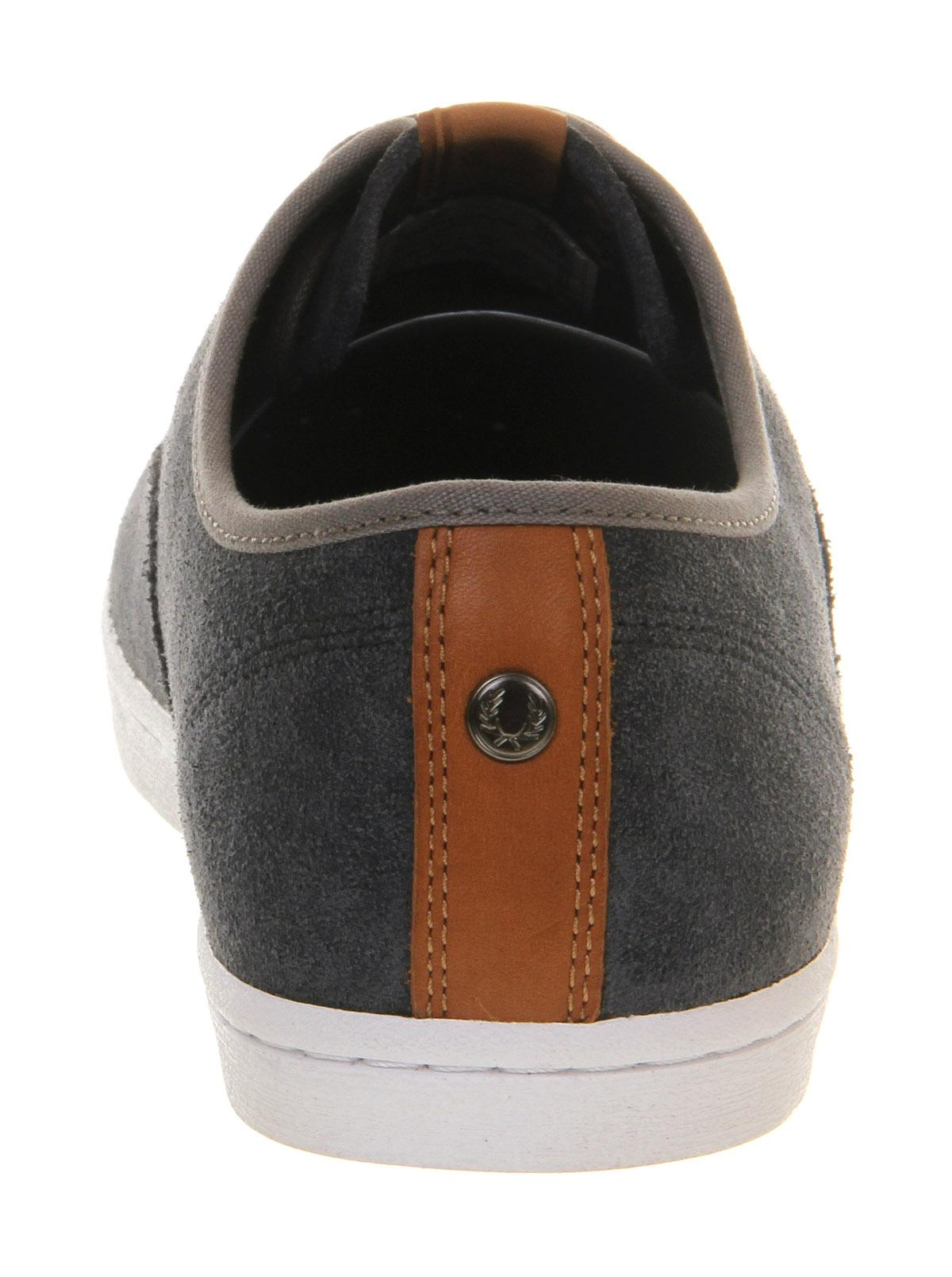Fred Perry Hunt in Charcoal (Black) for Men