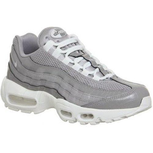 Nike Leather Air Max 95 Trainers in Grey (Grey)