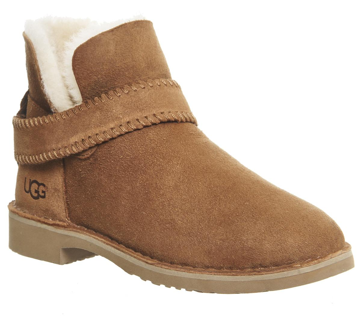 UGG Leather Mckay Strap Boots
