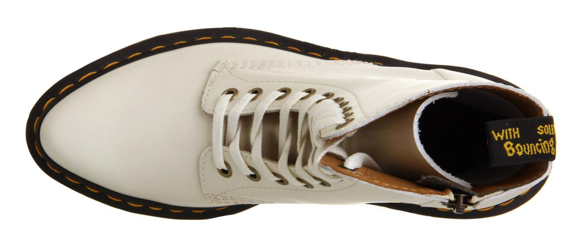 Dr. Martens Leather Core Alix Boots in White