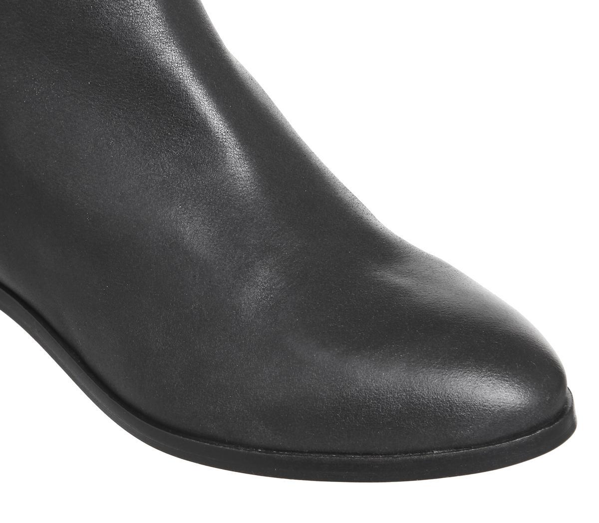 1370496742fc1 Office Alpine Flat Chelsea Boots in Black - Lyst