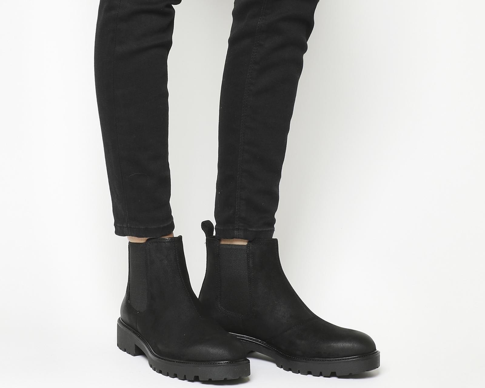 Lyst - Vagabond Kenova Chelsea Boots in Black