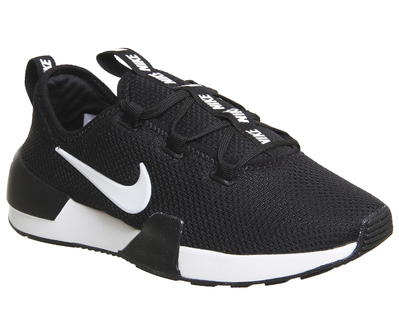 Nike Rubber Ashin Trainers in Black