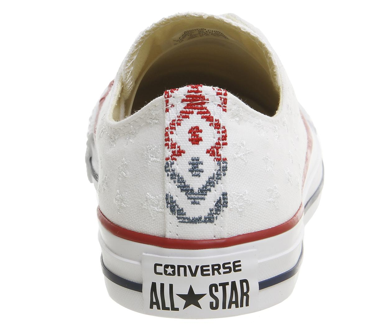 Converse Canvas All Star Low Trainers in White