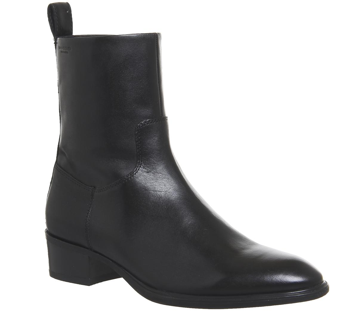 Vagabond Leather Meja High Cut Boots in
