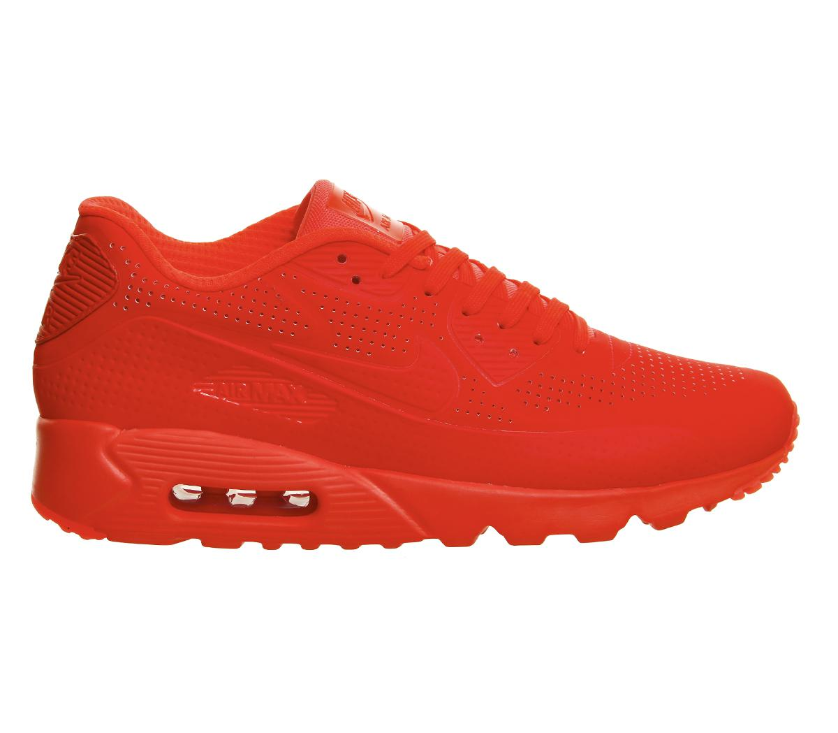 Nike Synthetic Air Max 90 Ultra Moire in Red for Men - Lyst