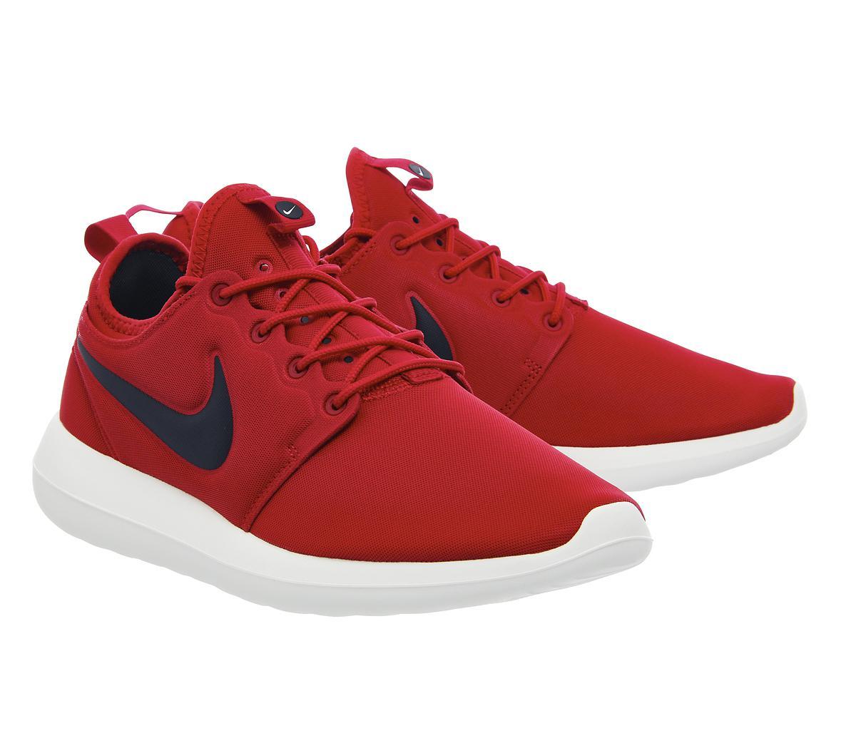 Nike Roshe Run Two in Red for Men - Lyst