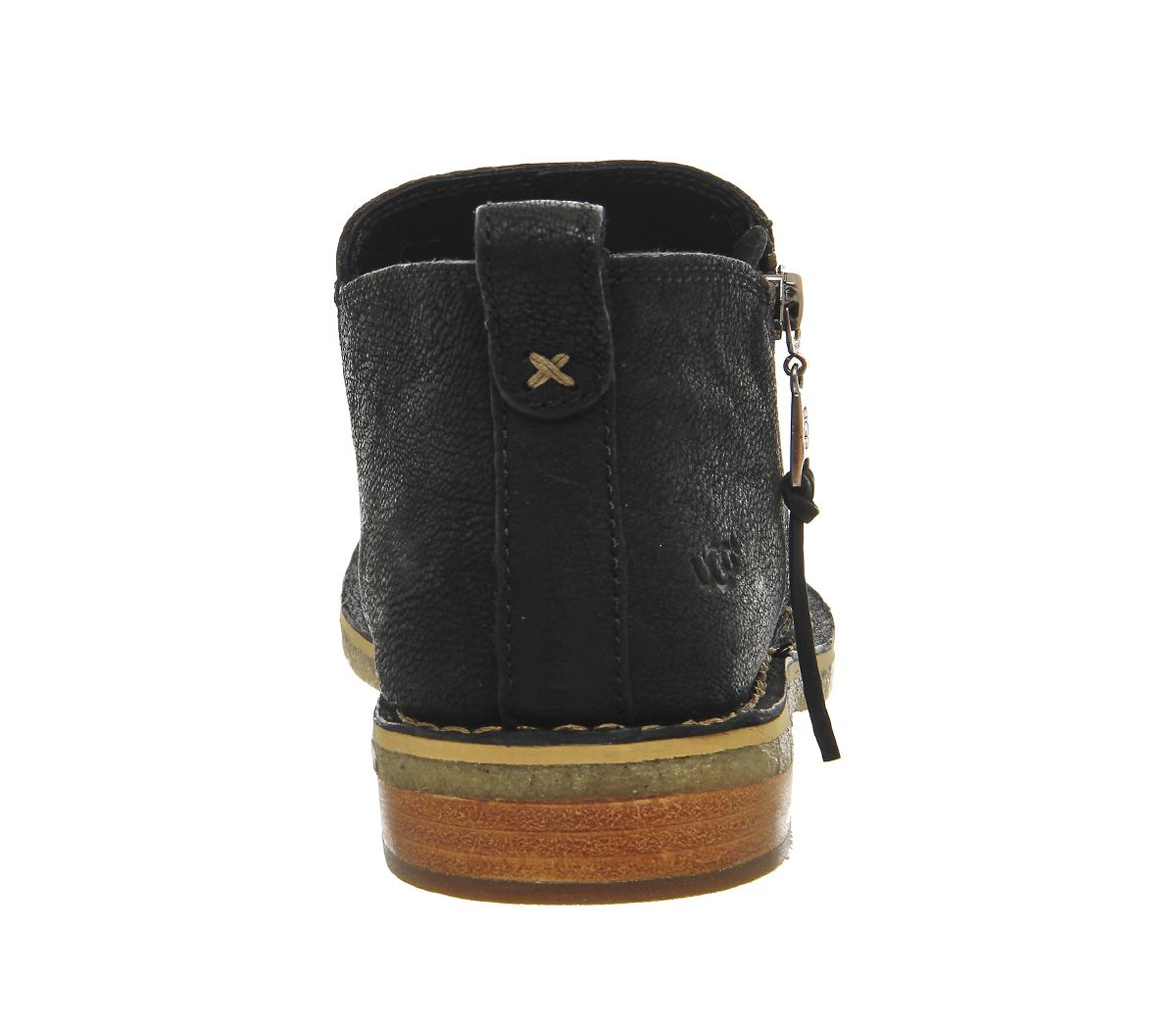 UGG Clementine Ankle Boots in Black