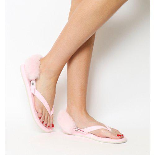 b5a504319bdb UGG Laalaa Flip Flop in Pink - Lyst