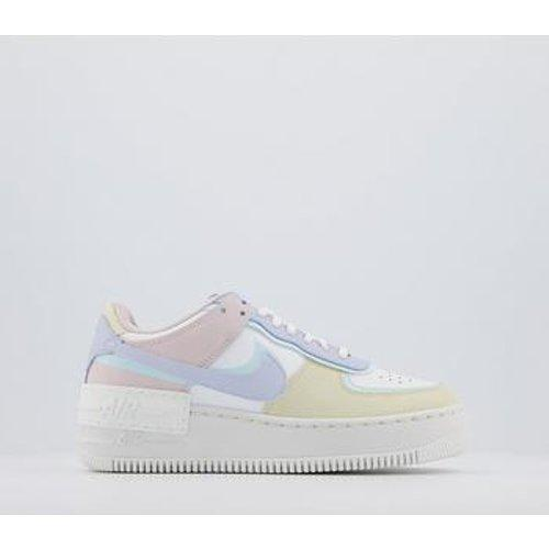 Nike Air Force 1 Shadow White Glacier Blue Ghost (w) Low-top ...