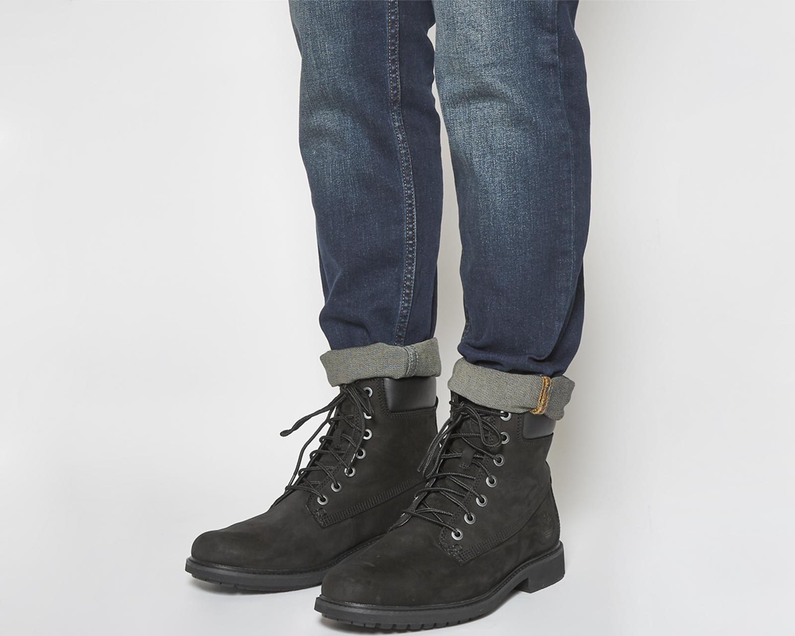 Lyst - Timberland Mens Slim 6 Inch Boots in Black for Men 4ef005f7d
