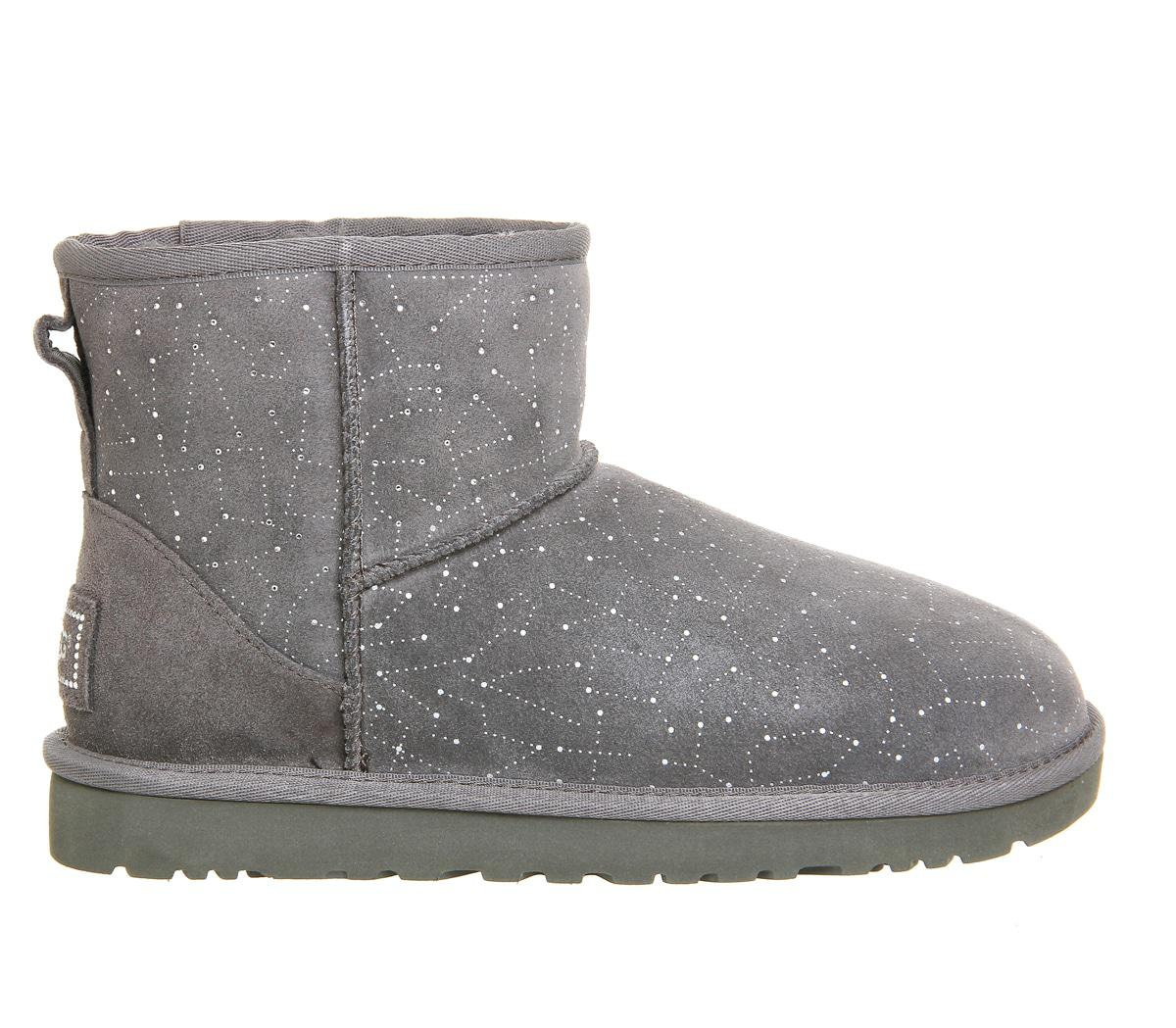 lyst ugg classic mini constellation boots in gray. Black Bedroom Furniture Sets. Home Design Ideas