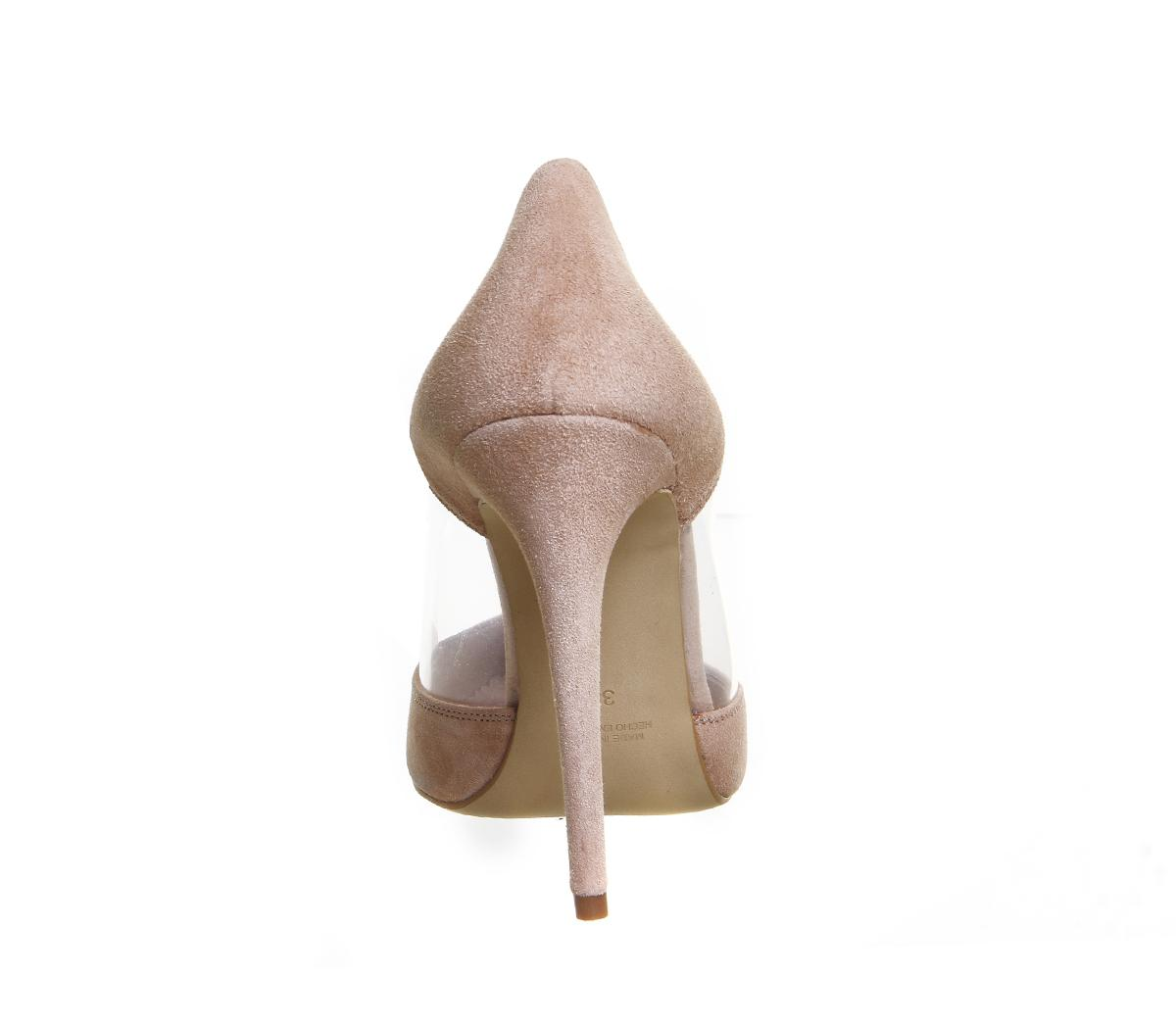 4b913e0ba2a Office Natural Alive Perspex Point Court Heels