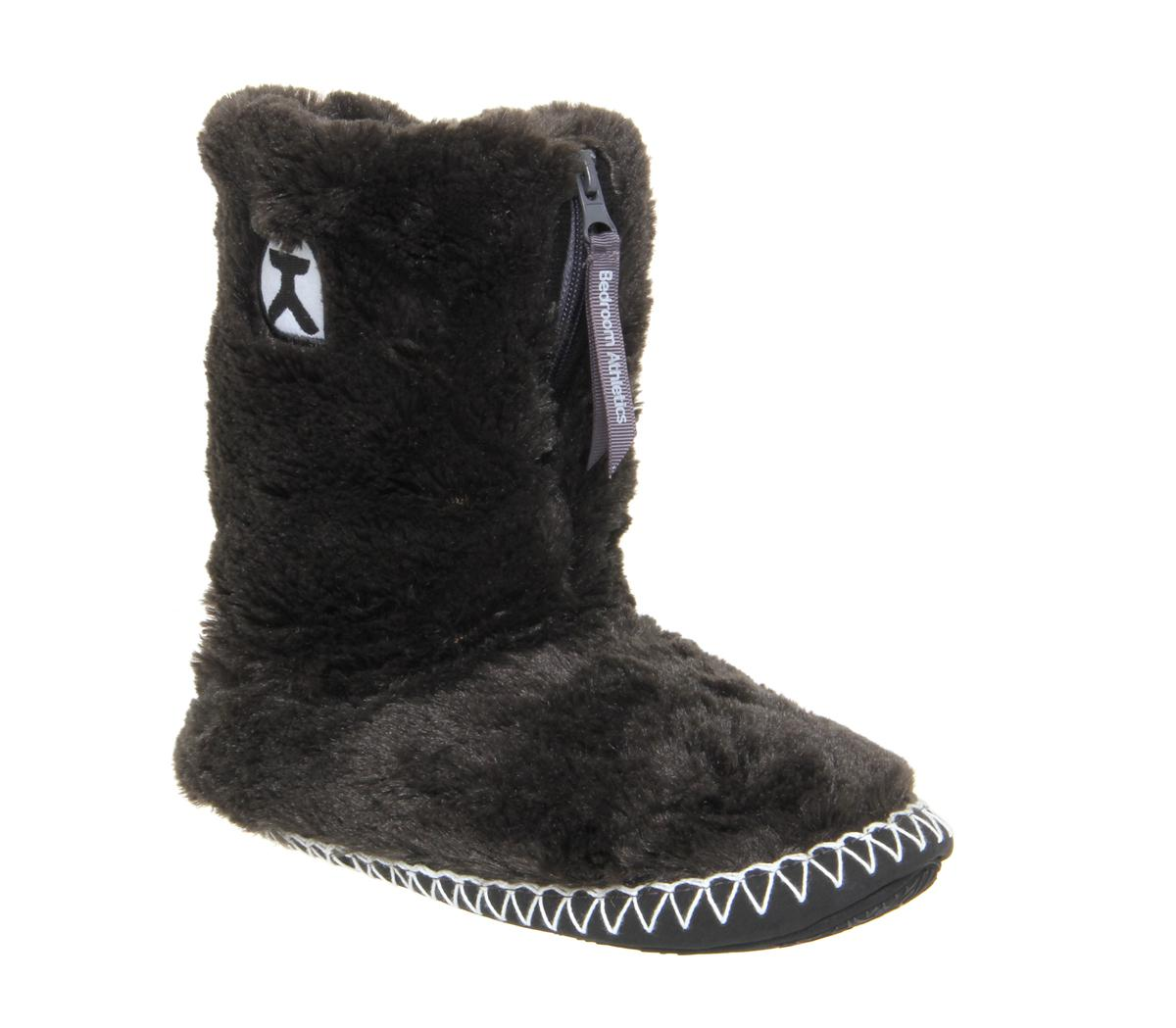 Bedroom Athletics Marilyn Iii Slipper Boots in Charcoal (Grey)