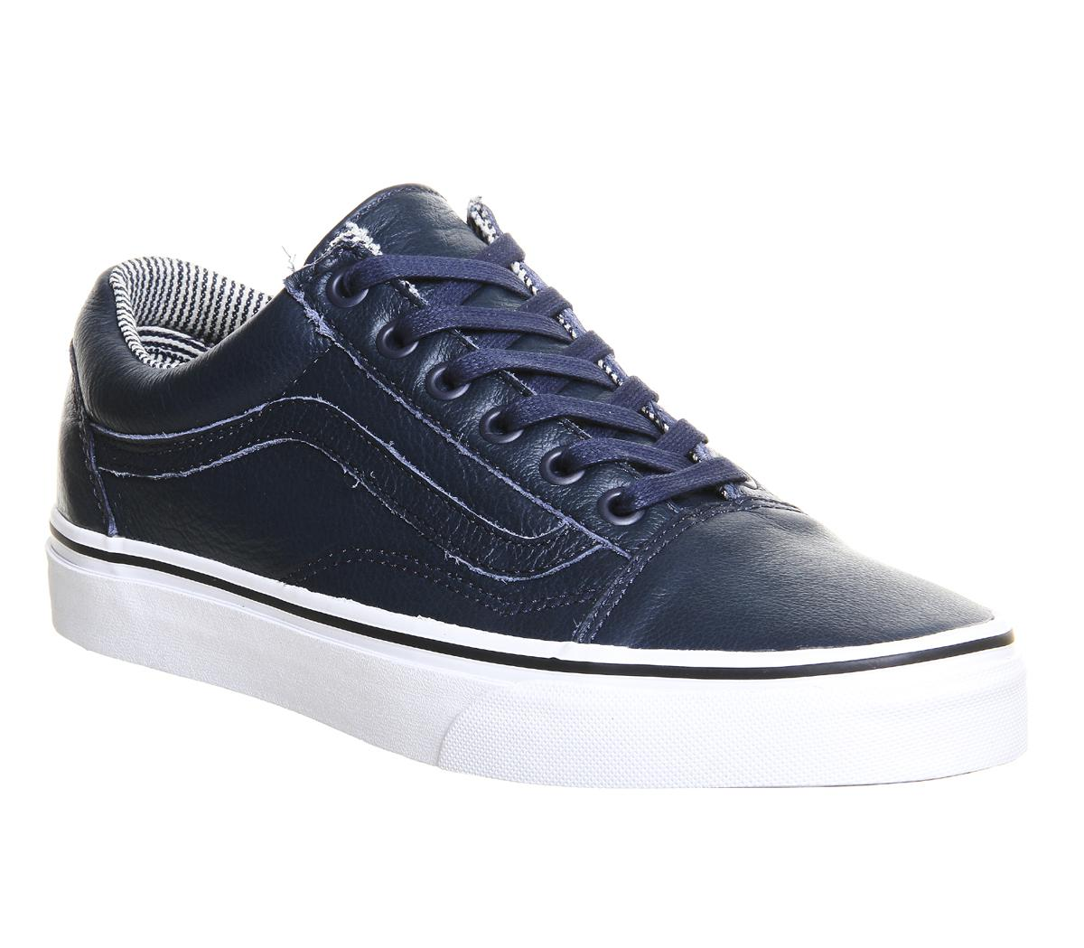 lyst vans old skool in blue for men. Black Bedroom Furniture Sets. Home Design Ideas