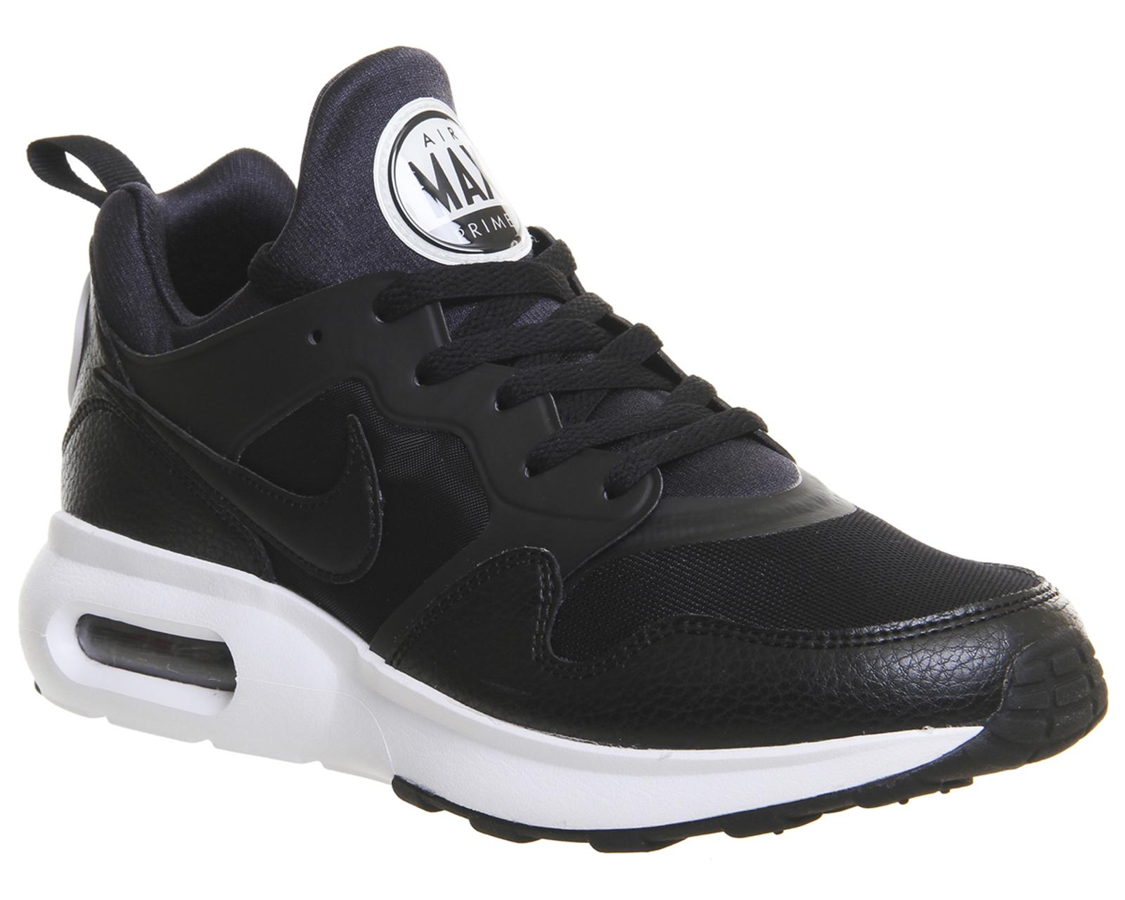 Nike Leather Air Max Prime in Black for Men - Lyst