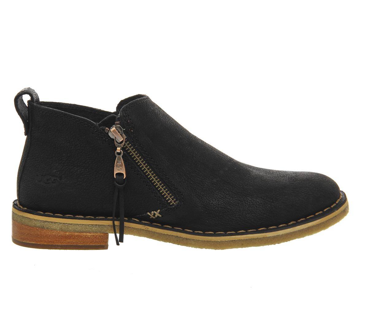 0c42d1b0094 Ugg Black Clementine Ankle Boots