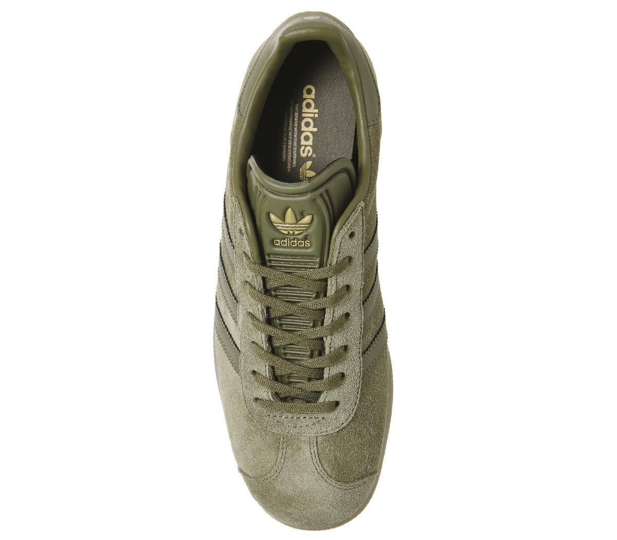 adidas Suede Gazelle Olive Shoe Bb5265
