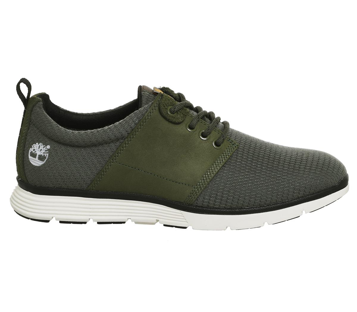 Timberland Leather Killington Oxford In Sage Green For