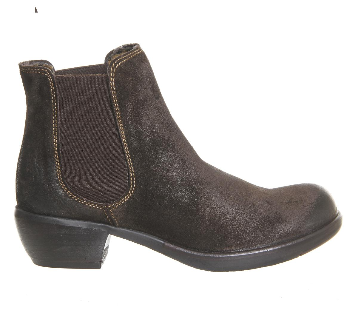 Fly London Suede Make Chelsea Boots