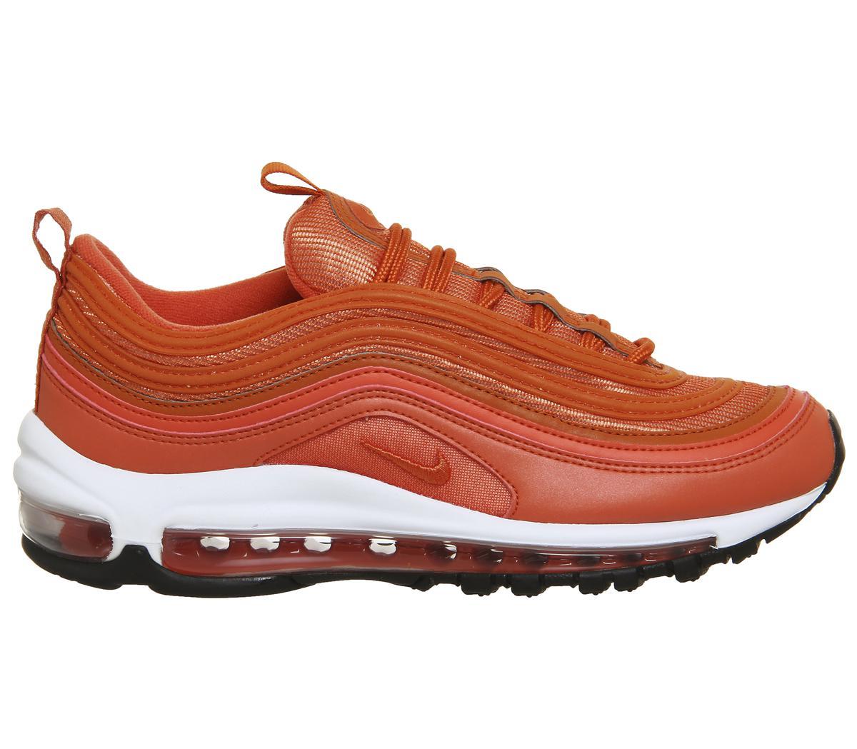 separation shoes 439d3 8ea32 Nike Orange Air Max 97 Trainers for men