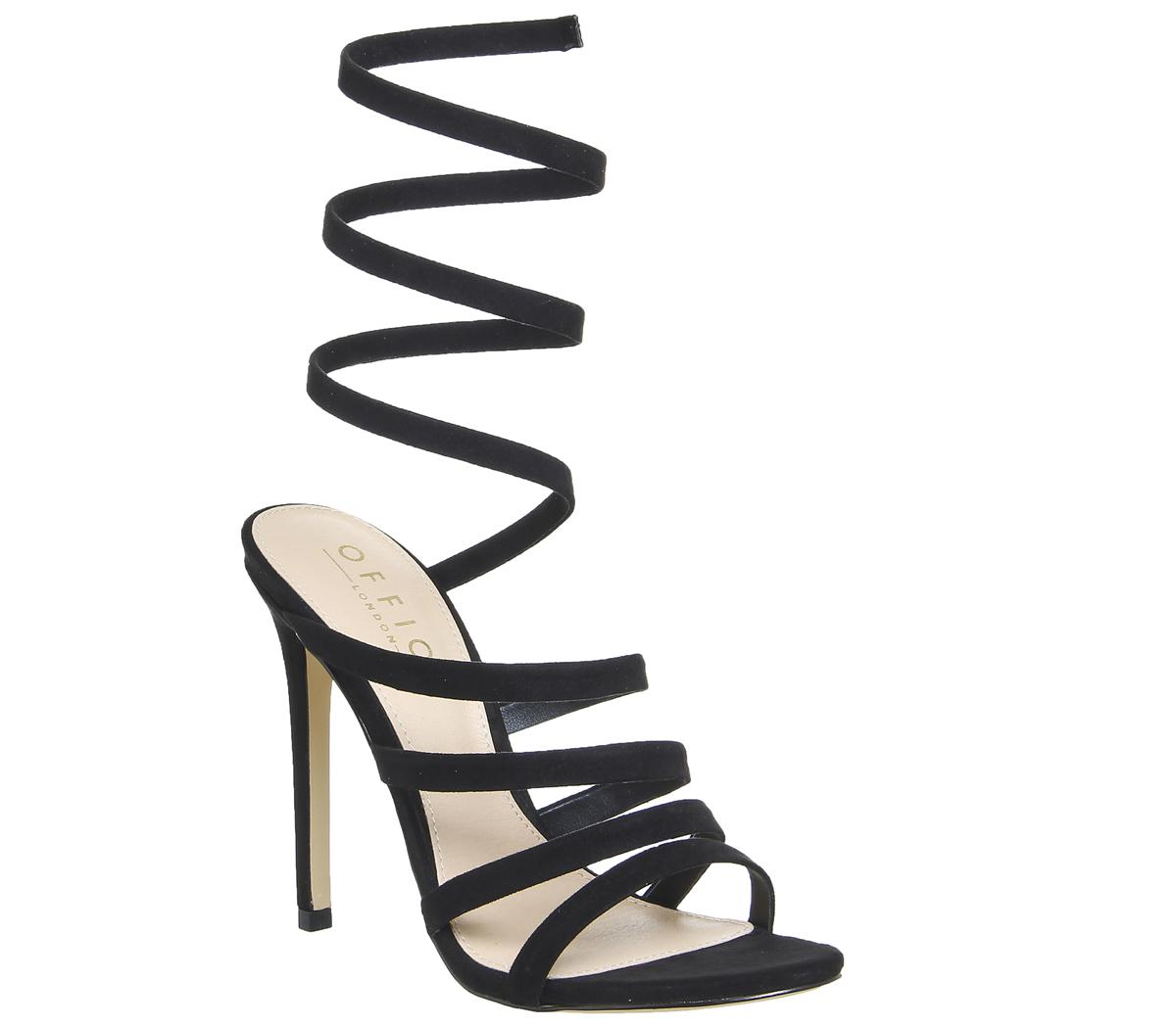 Office HUNDRED - High heeled sandals - black y8yA3P