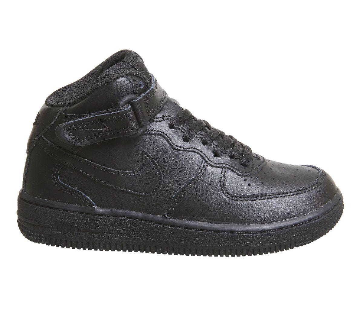 official photos dafbe d359f Men's Black Af1 Mid Ps Sneakers
