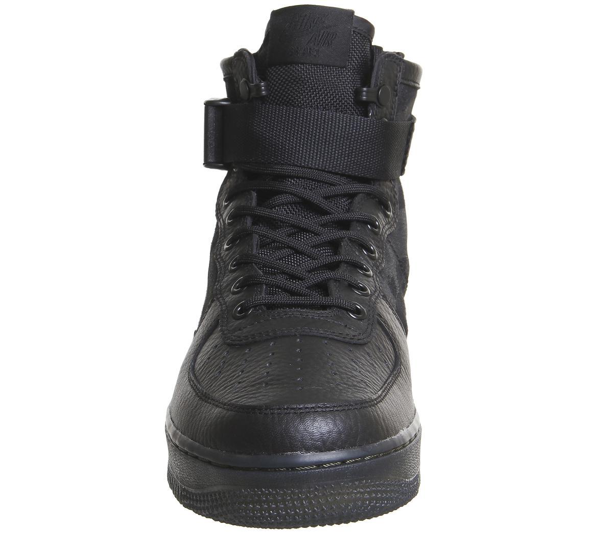 Lyst - Nike Sf Af1 Mid 17 in Black for Men ea5333776