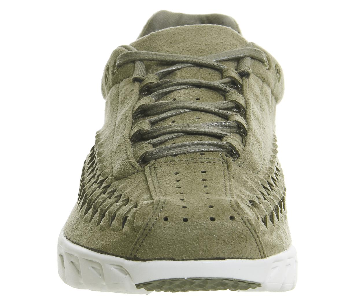 Nike Suede Mayfly Woven Trainers in Green for Men