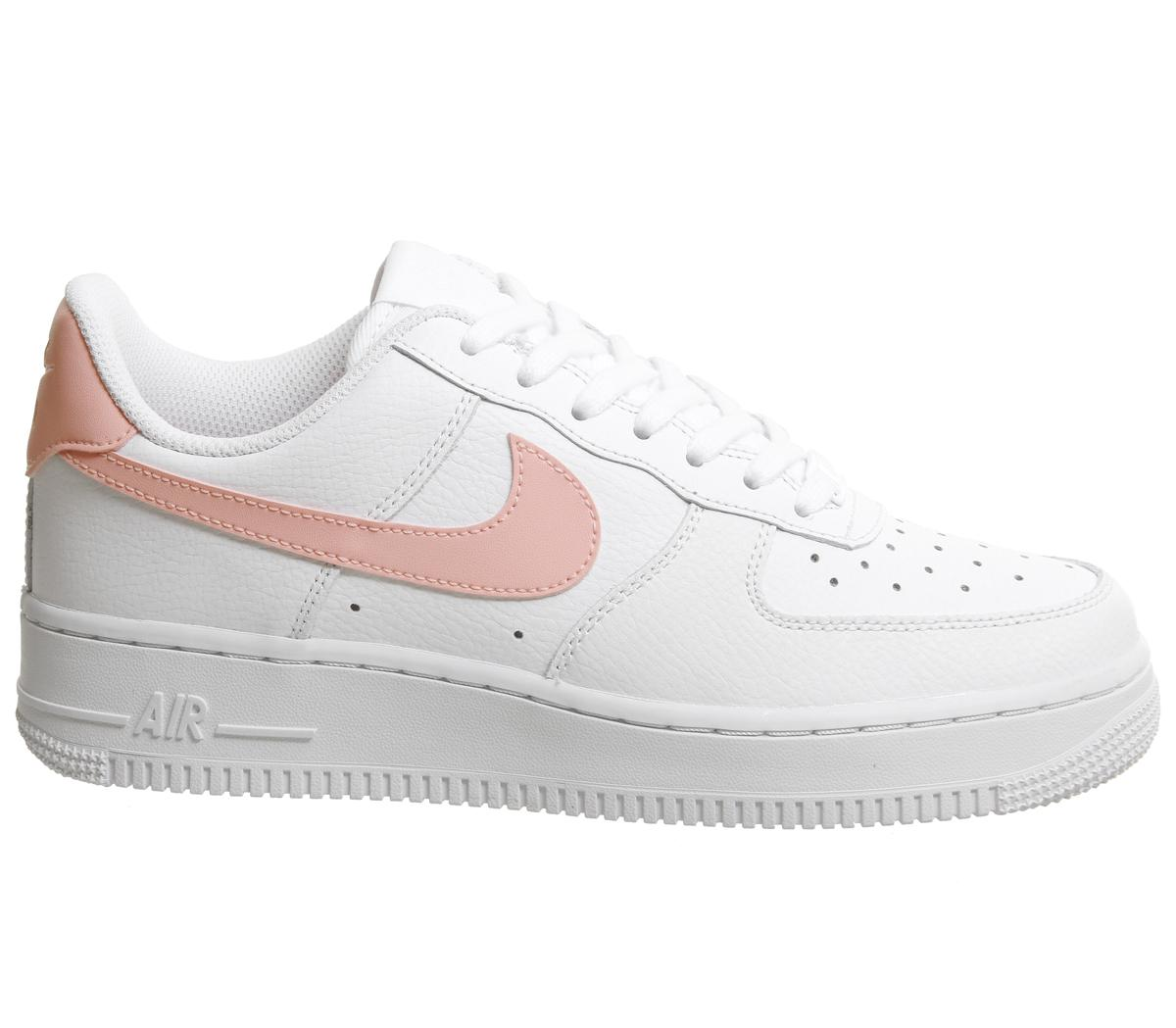 ab115f425f3 Lyst - Nike Air Force 1 07 in White
