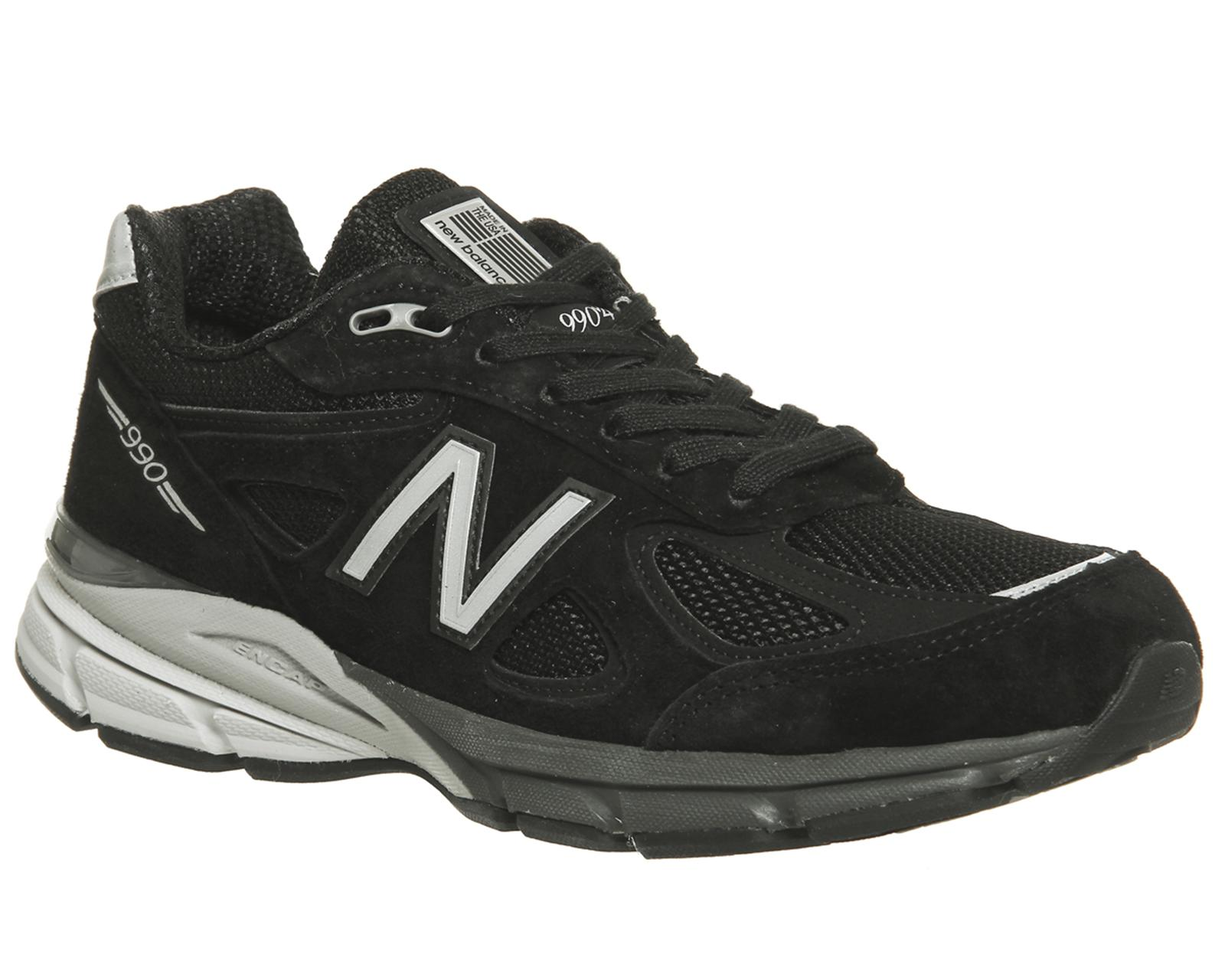 premium selection ccc14 17778 New Balance Black 990 Trainers for men
