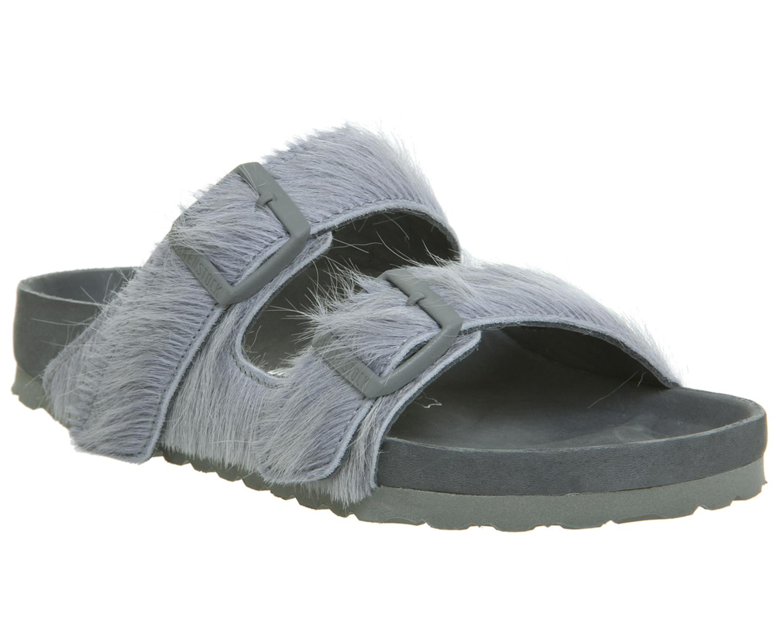 7e28d58b60fe Lyst - Rick Owens Ro Arizona Two Strap Sandals in Gray