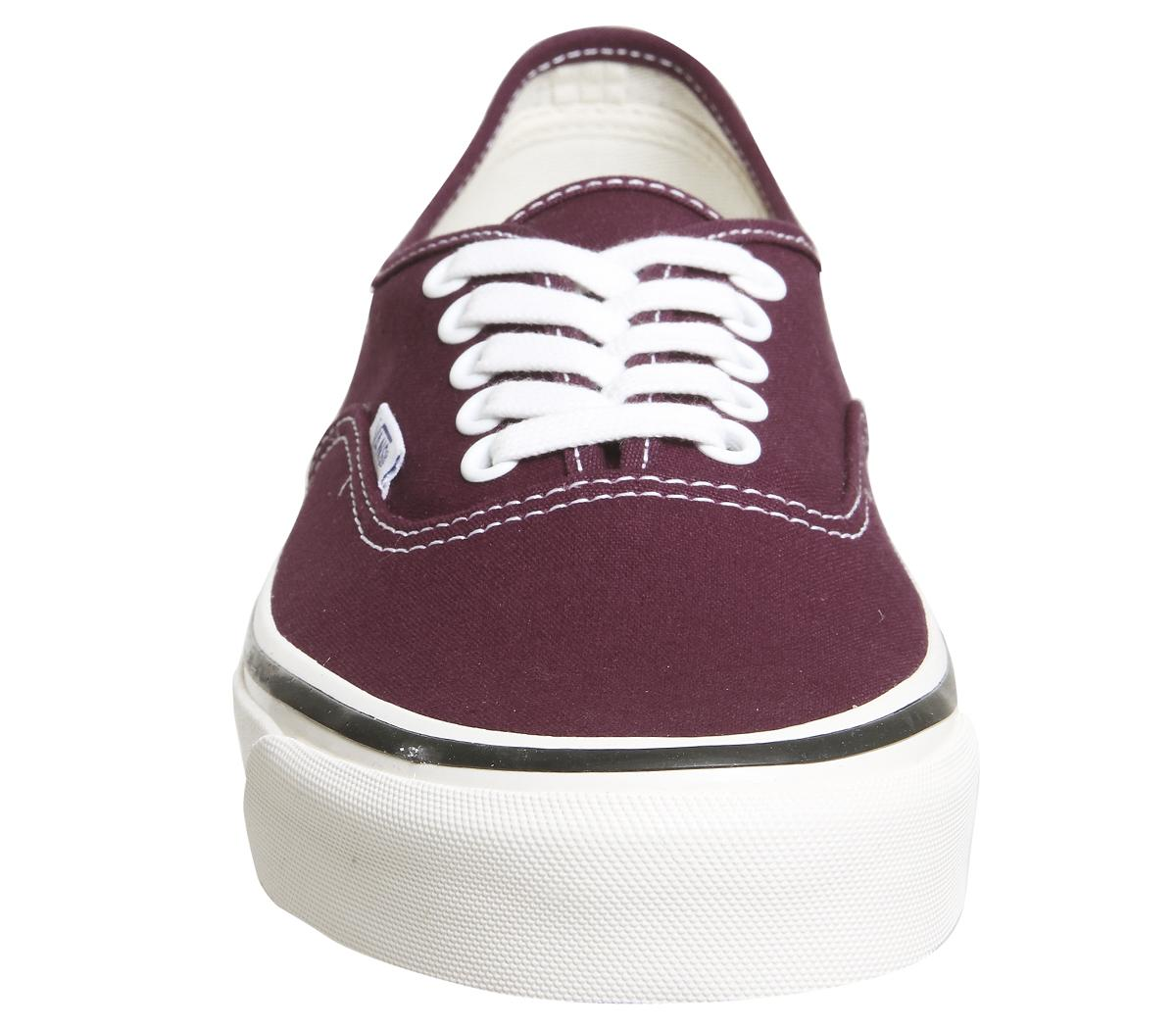 Vans Canvas Authentic 44 Dx Trainers in og Burgundy (Purple) for Men
