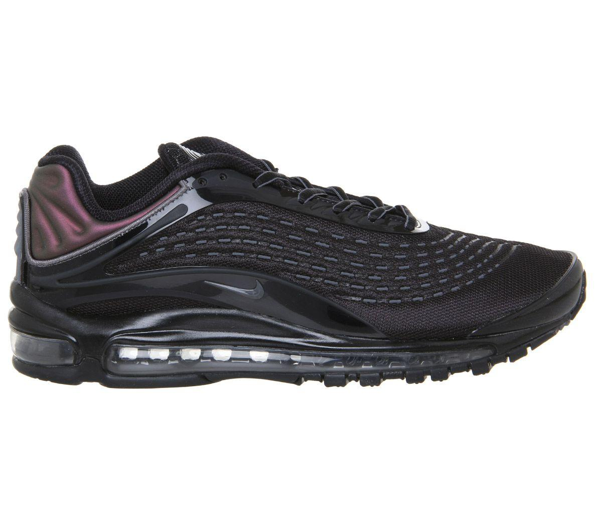 Nike Rubber Air Max Deluxe in Black - Lyst