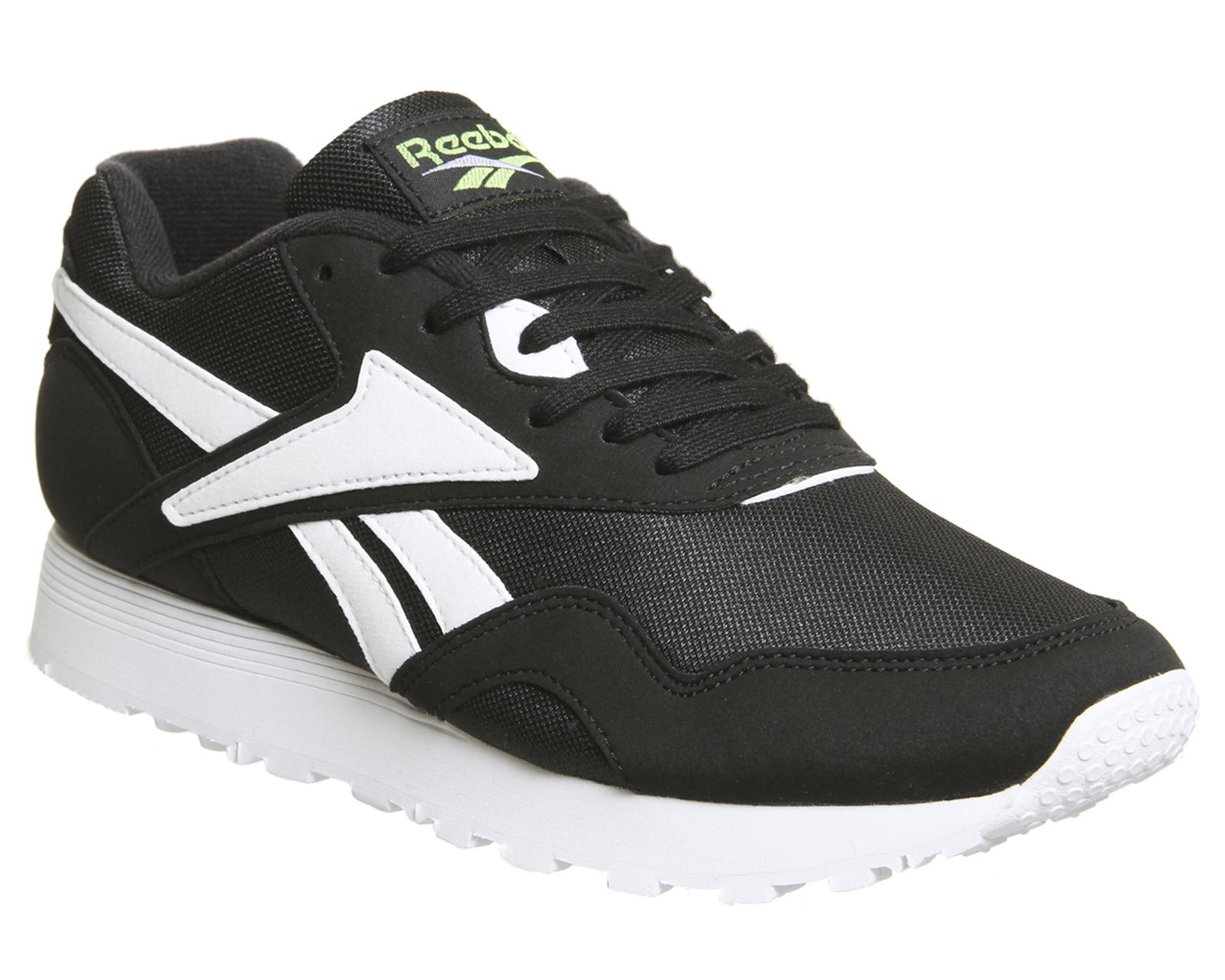 0f0ac8e0031f Reebok Rapide Trainers in Black for Men - Lyst