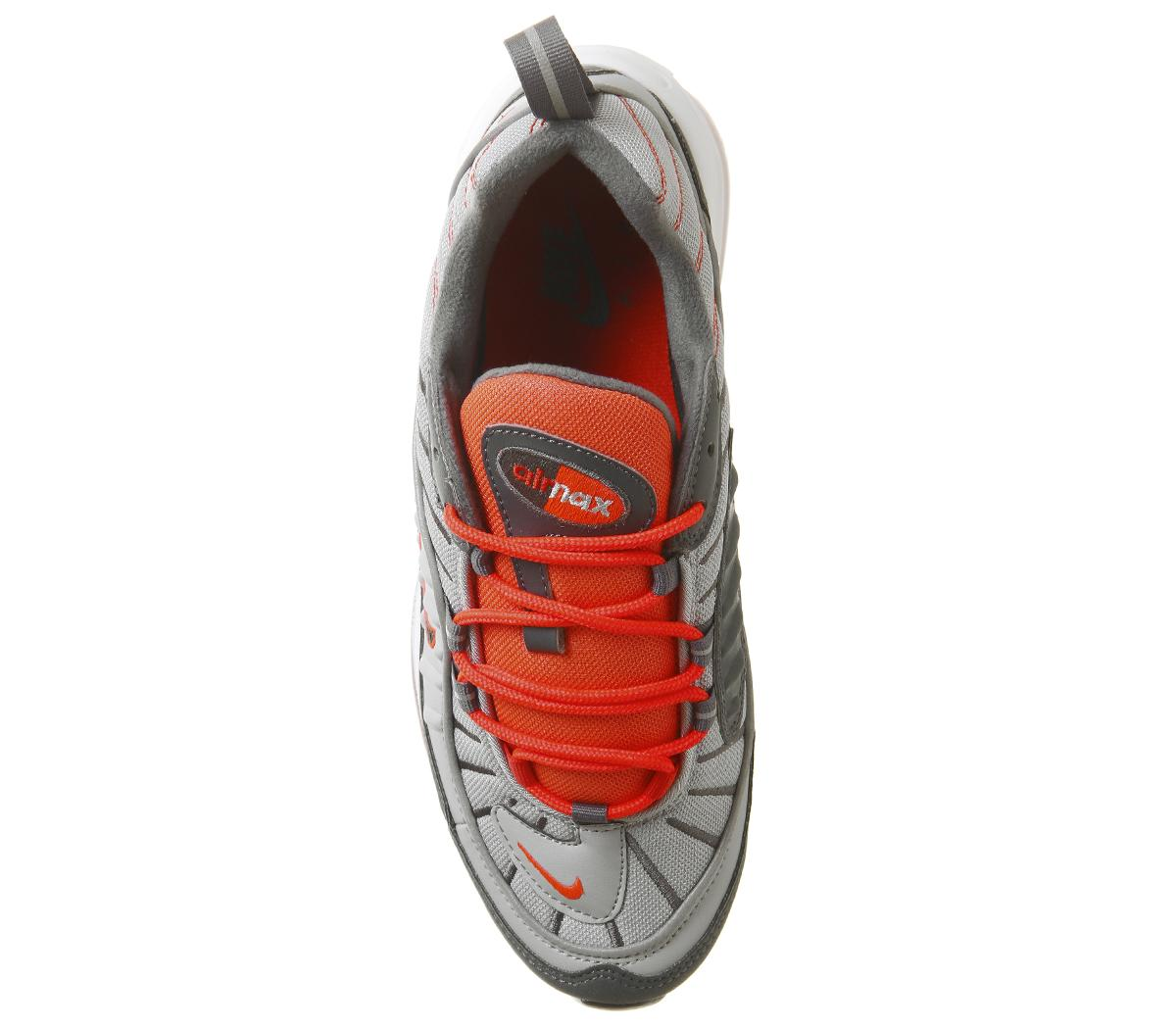 Nike Rubber Air Max 98 Trainers in Grey for Men