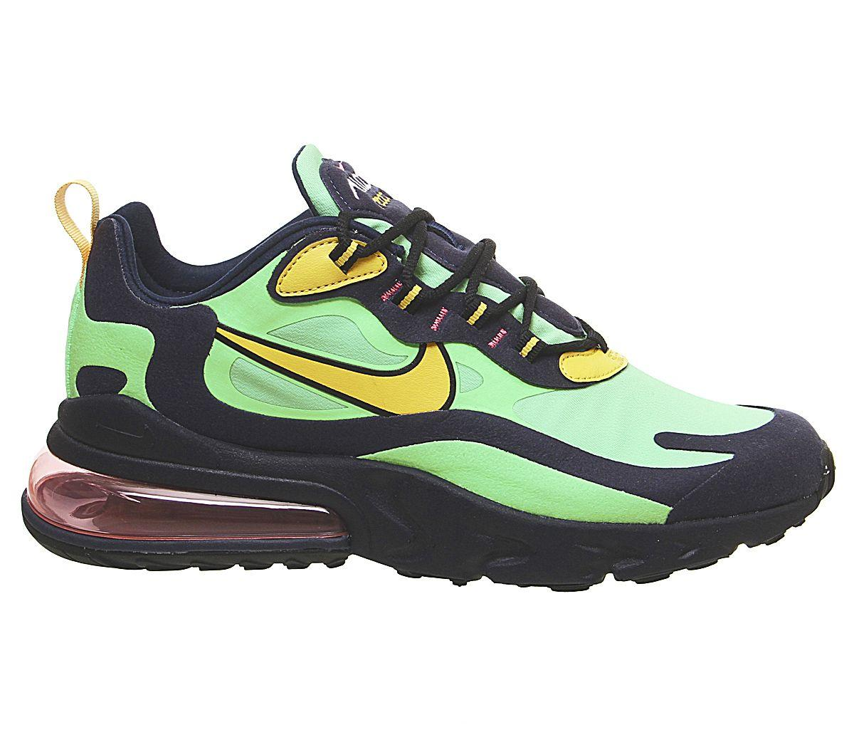 Vacaciones Entender mal Vinagre  Nike Rubber Air Max 270 React Running Shoes in Black Green (Green) for Men  - Save 65% - Lyst