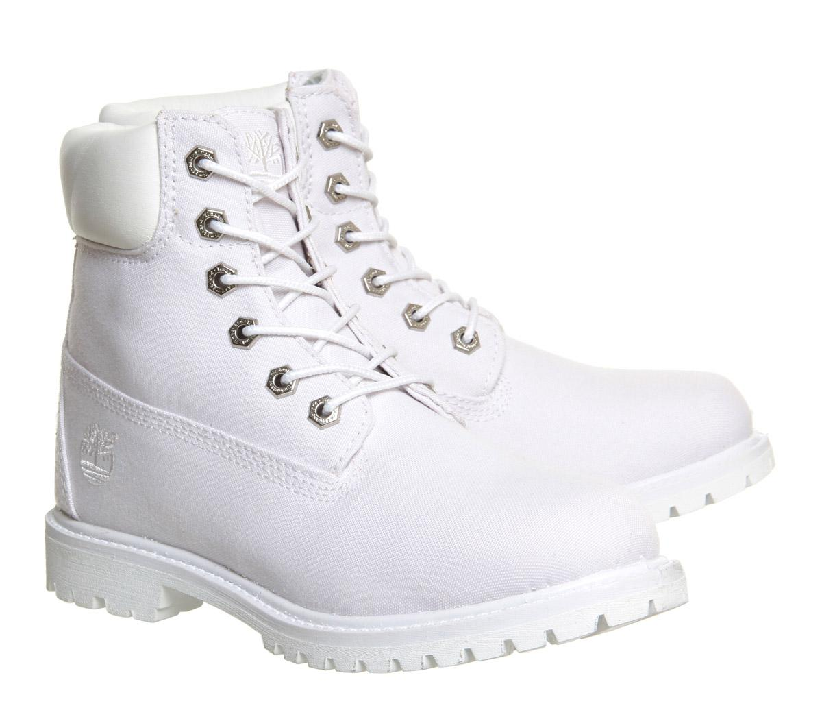 Lyst - Timberland Premium 6 Boots in White 54d7e83571
